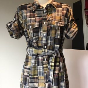 Carole Little madras dress